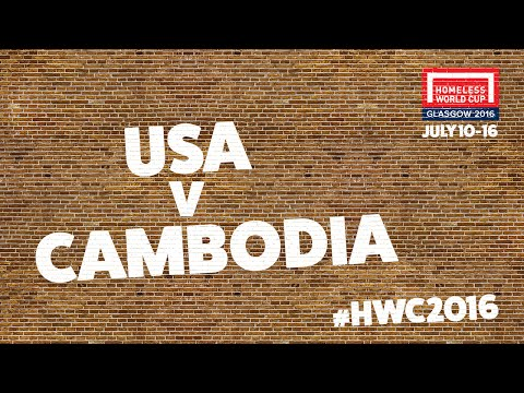 USA v Cambodia | Men's Globe Semi Finals (A)
