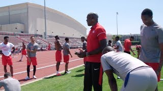 Workout Wednesday: Carl Lewis & Houston Sprinters