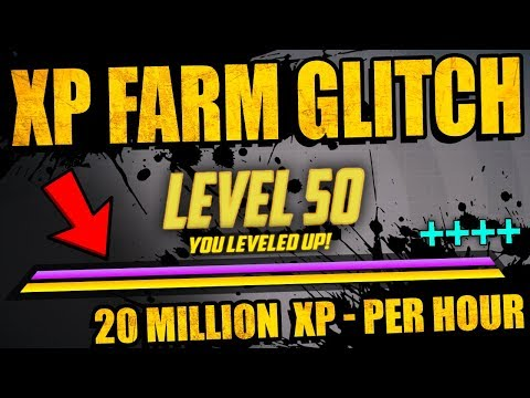 Borderlands 3: NEW XP FARM GLITCH - 15+ Million XP Per Hour - EASY RANK 50 - How To Do - Full Guide