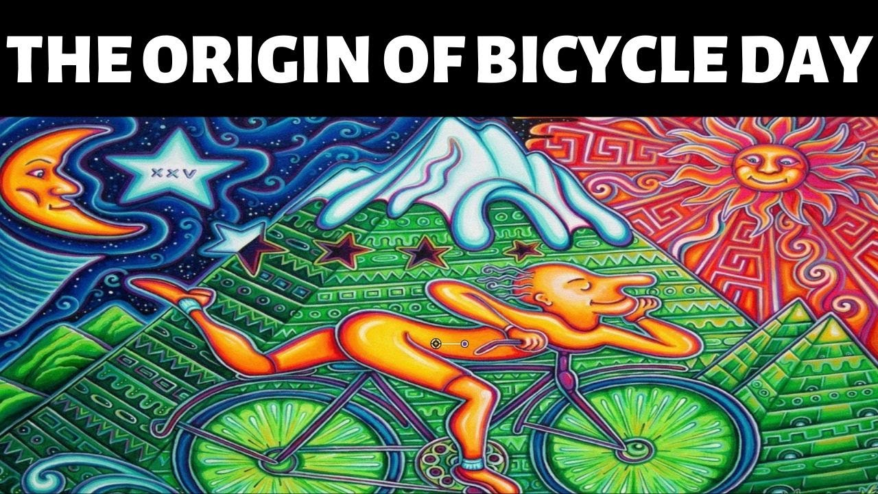 Today is Bicycle Day, which isn't quite what you think