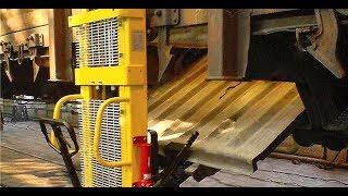 Установка для демонтажу і монтажу кришок люків піввагонів УСПЛ 1