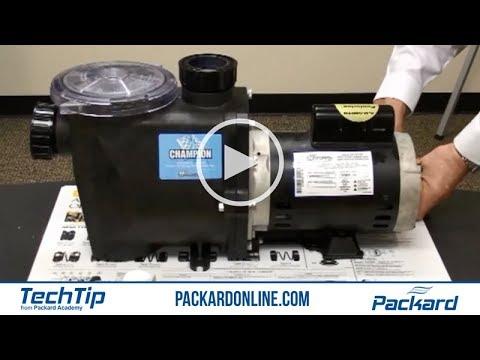 8 58 pool pump motor shaft seal to mp3 for Pool pump motor installation
