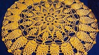 Читаем схему салфетки крючком часть 3 (Read scheme napkins crochet part 3)(, 2014-05-19T21:14:35.000Z)