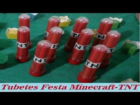 Festa Minecraft Tubetes Tnt Youtube