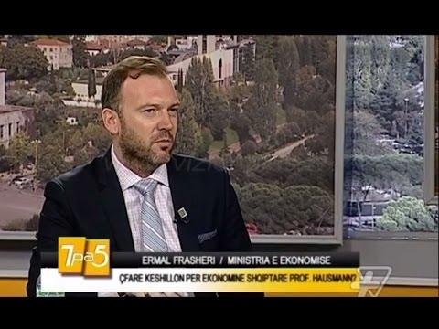 Ermal Frasheri: Çfare keshillon per ekonomine shqiptare Harvard