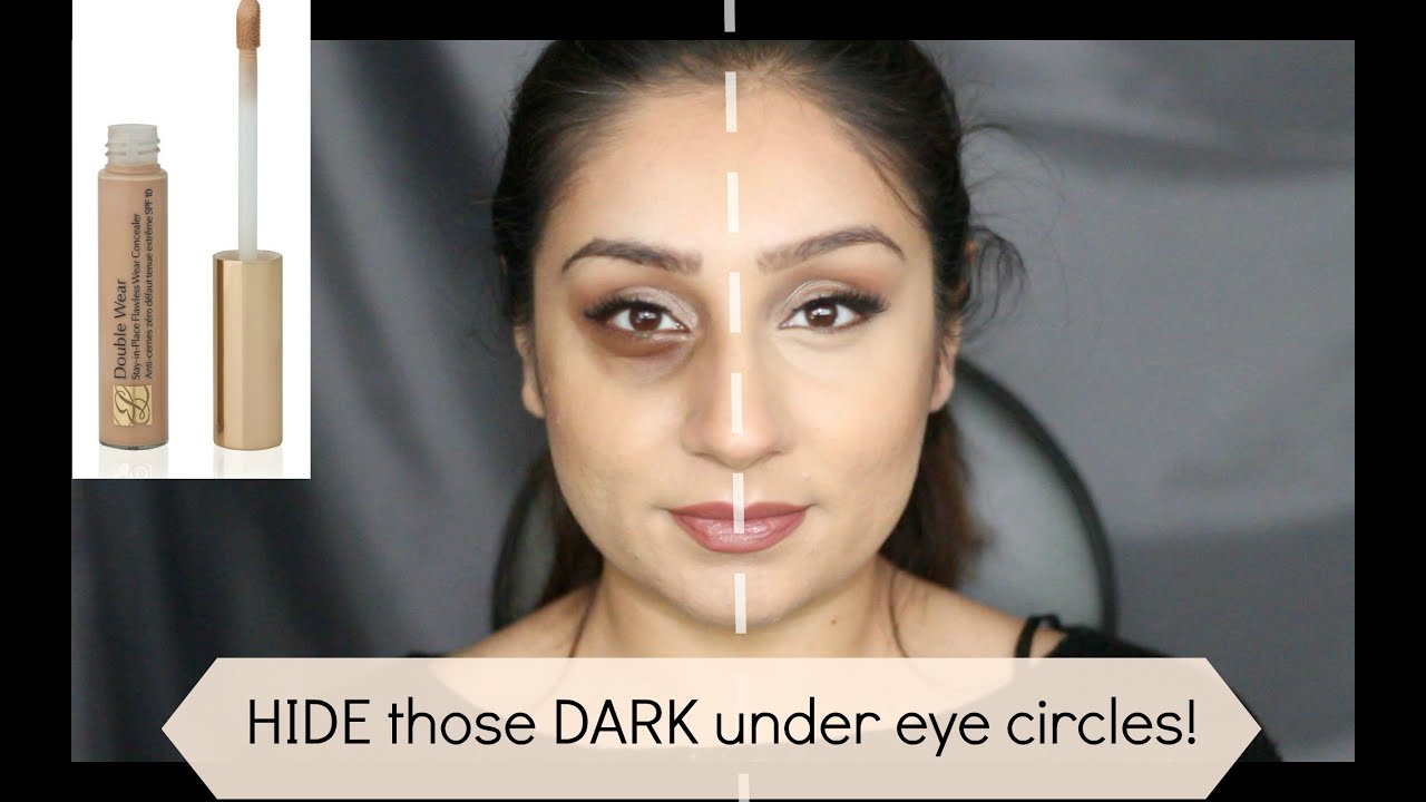 Best makeup to hide dark circles under eyes