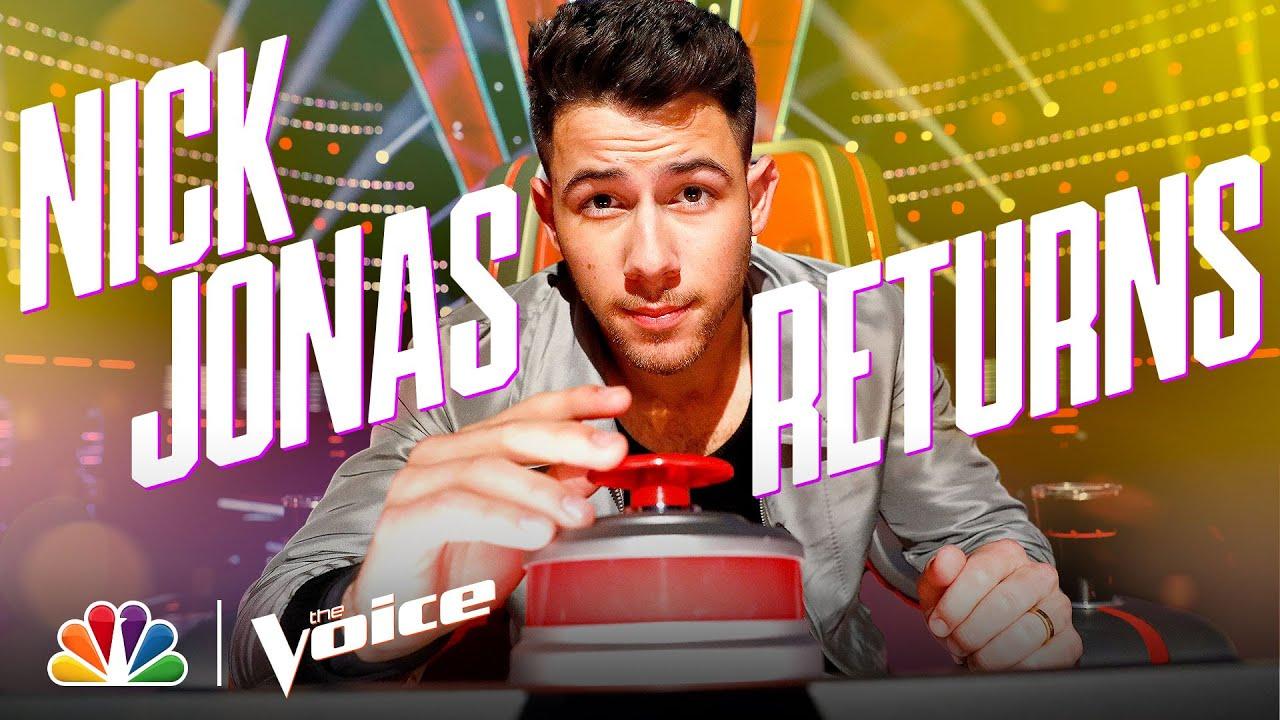 The Return of Coach Nick Jonas - The Voice 2021