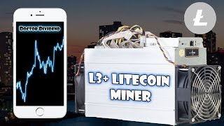 Litecoin Mining with L3+ Antminer Profitable? | Cryptocurrency Mining!