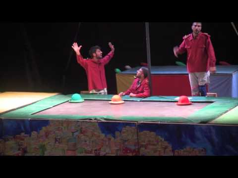 Palestinian Circus School brings a smile to families in Jerusalem