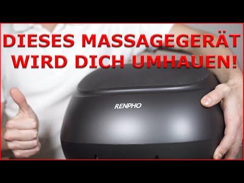Das RENPHO Fußmassagegerät im Test - Sag adé zu schmerzhaften Füßen!