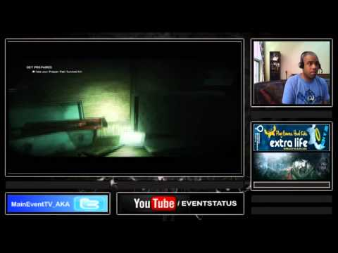 ZombiU: Electric Boogaloo Charity Stream For Children's Hospital of Philadelphia (7-23-14 / Part 1)