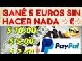 Esta App Me PAGO 5 EUROS En PAYPAL SIN HACER ABSOLUTAMENTE NADA | Cobrando en Directo!!!
