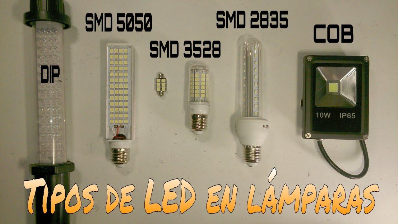 Qu tipos de diodos led se utilizan en iluminaci n for Tipos de bombillas led para casa