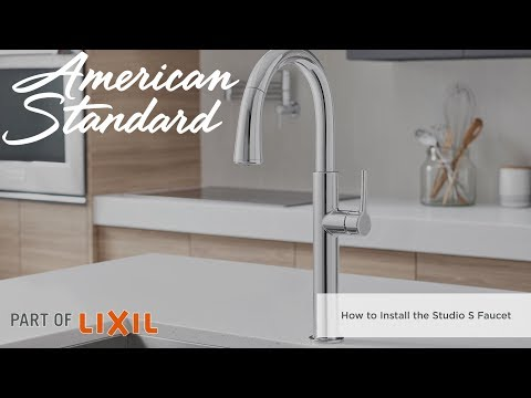 How To Install The Studio S Pull-Down Kitchen Faucet