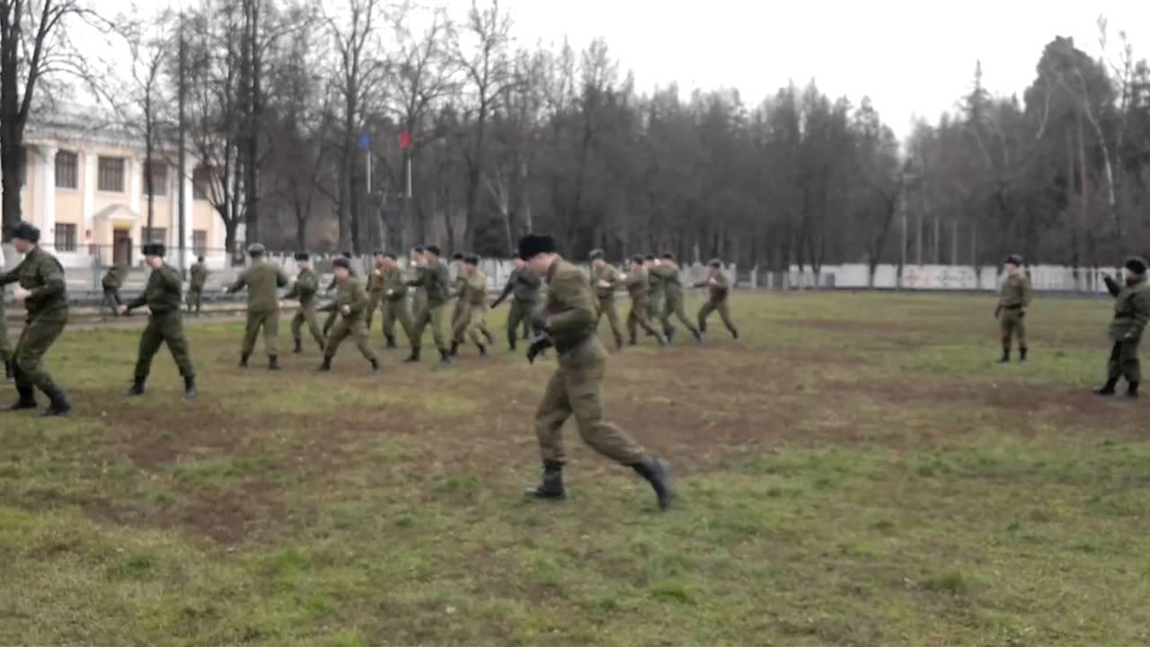 Армейский рукопашный бой на 8 счетов в исполнении