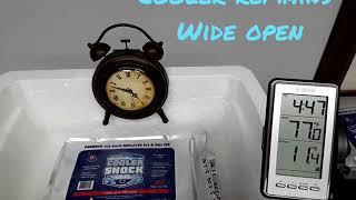 Cooler Shock Phase Change Demonstration