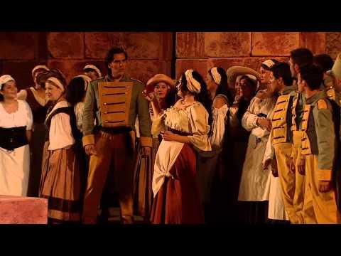 Georges Bizet: Carmen, Act I - Elena Maximova, Myron Michailidis (Taormina Festival 2015)
