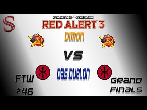 Dimon[S] vs Das.Duelon[E] FTW #46 Grand Finals || Red Alert 3