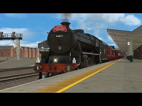 Train Simulator 2018 - Bossman Games Black 5 Steam Locomotive Add-on  - A First Look