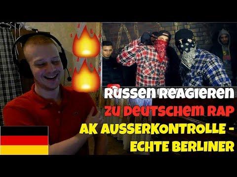 RUSSIANS REACT TO GERMAN RAP   AK AUSSERKONTROLLE - ECHTE BERLINER   REACTION TO GERMAN RAP