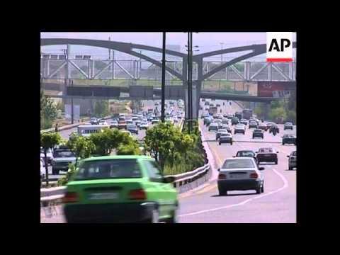 Tehran (Teheran) Traffic