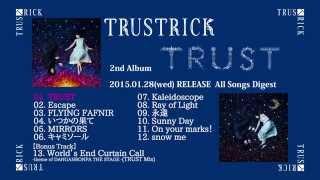 TRUSTRICK (神田沙也加(Vo) x Billy(Gt)) 2nd Album『TRUST』 2015/01/2...