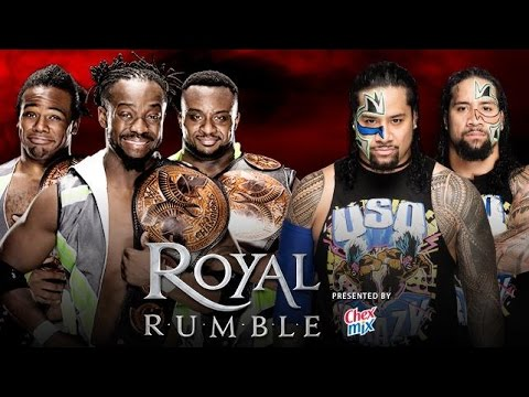 Royal Rumble 2016 | WWE Tag Team Championship Match [WWE 2K16]