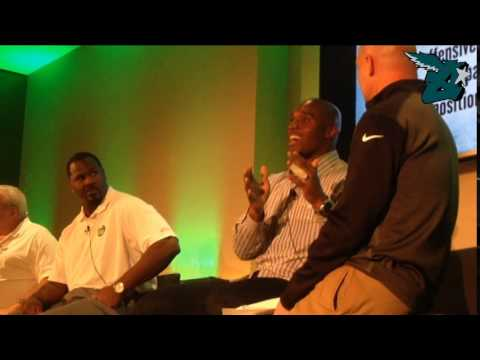 Men in the Middle: A Discussion with DeMeco Ryans, Jeremiah Trotter, and Bill Bergey