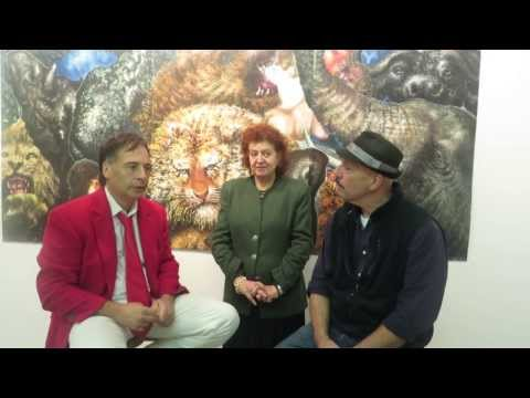 Alexander Kanevsky's interview by Richard Gins at NYC Montserrat Contemporary Art Gallery