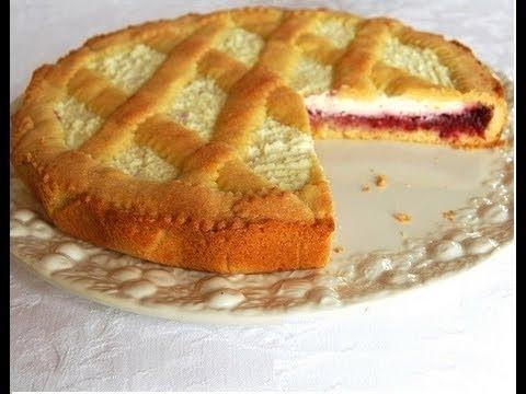 Crostata Con Crema Di Mascarpone E Marmellata Youtube