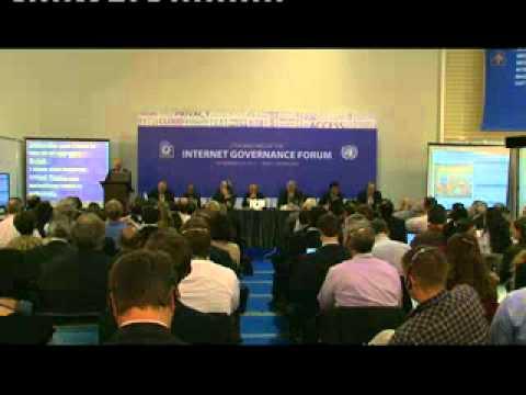 IGF 2012- WS 140- The International Telecommunication Regulations and Internet Governance