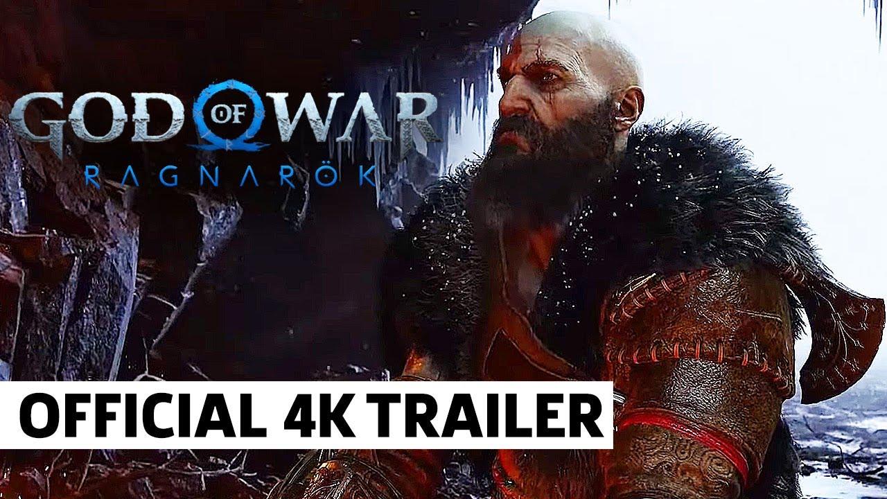 Download God Of War: Ragnarok 4K Official Trailer