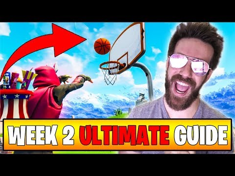 THE ULTIMATE WEEK 2 CHALLENGES GUIDE In Fortnite Battle Royale ;)