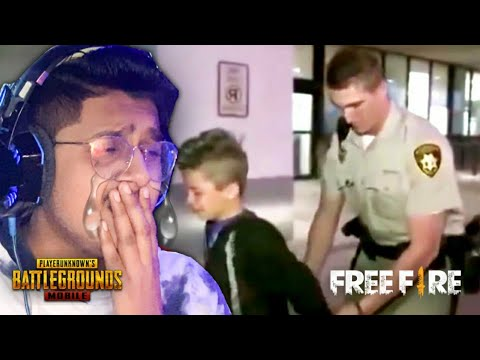 Police Arrested Him Because Of Playing PUBG Mobile And Free Fire