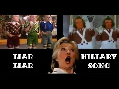 Liar Liar   Pants On Fire  (HILARIOUS) Hillary Song - funny
