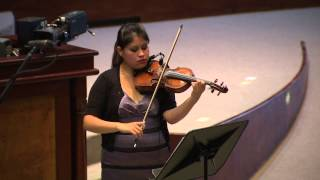Recital de violín y piano - 20 Jul 2015 - Bloque 1