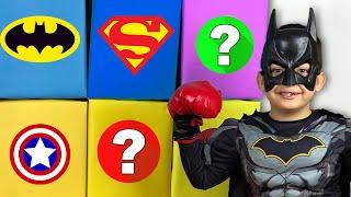 Giant Smash Surprise Superheroes Toy Boxes