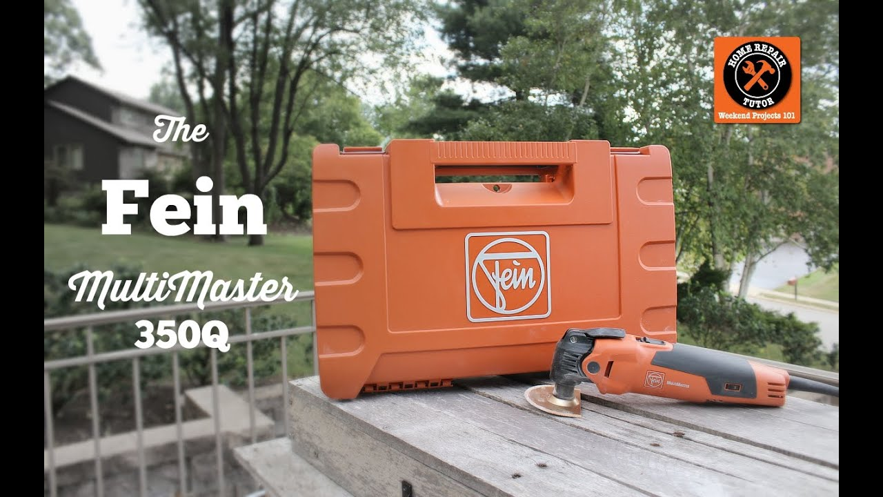 Fein Multimaster 350q Review By Home Repair Tutor Youtube