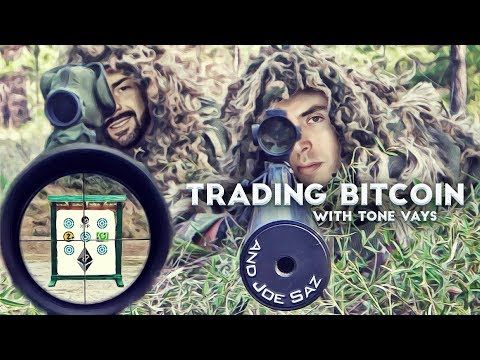 Trading Bitcoin W/ Joe Saz - Which Way Will Triangle Break