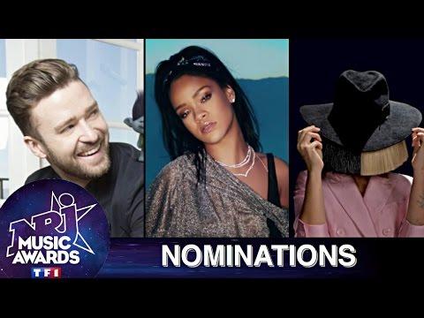 NRJ Music Awards 2016 - Nominations