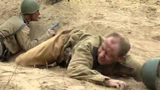 Съемки фильма Три дня лейтенанта Кравцова