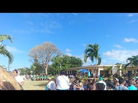 How Is Iroquois Elementary School aloha Event