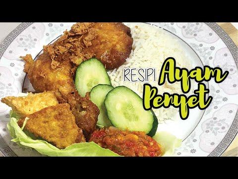Resepi Ayam Penyet Che Nom Resep Masakan Khas