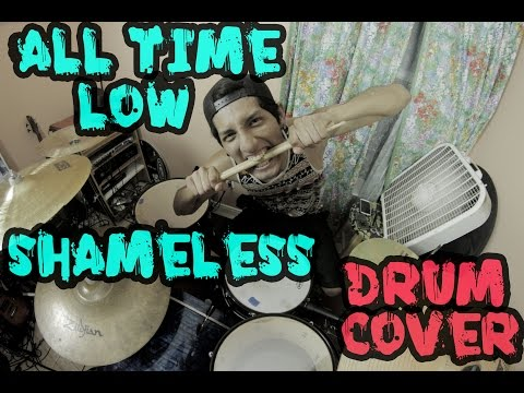 All Time Low - Shameless (Drum Cover)