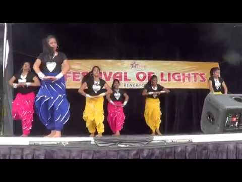 Junior and Senior Group performances from Jhanak Dance School Western Sydney