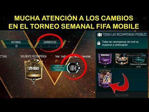 Nuevo torneo semanal: explicación y consejos   Fifa Mobile