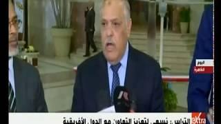 غرفة الأخبار | الهيئة العربية للتصنيع تستقبل وزير الدفاع التشادي
