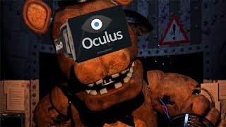 Five Nights at Freddy's 2 with OCULUS RIFT (SCARIEST THING EVER) Thumbnail
