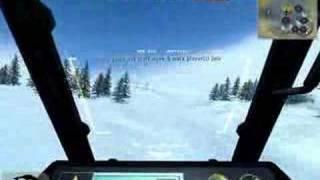 Battlefield 2142 Northern strike gunship stunts