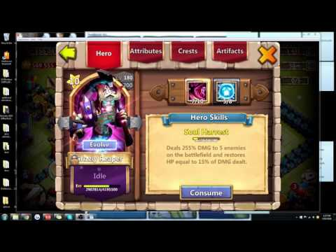 Castle Clash Tutorial: Grizzly Reaper